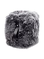 Royal Dream Puff Sheepskin Gris/Negro