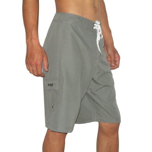 Mens Hurley Skate & Surf Boardshorts Board Shorts - Grey (Size: 30)