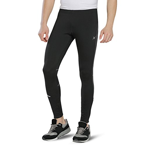 Baleaf Men's Outdoor Thermal Cycling Running Tights Size S (Basketball Leg Thermals compare prices)