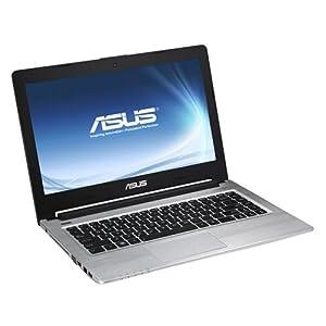 ASUS S56CM-XX035H - Ordenador portátil (Negro, Plata, Concha, 1.7 GHz, Intel Core i5, i5-3317U, 4 GB)