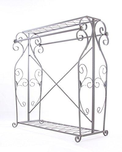Decorative Grey Steel Iron Garment Coat Rack (Y009D) 1