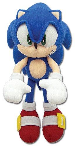 Sonic The Hedgehog 7 5 Mini Sonic Plush Doll Jacob J Davise