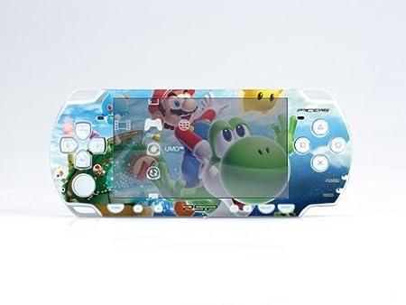 MARIO PSP (Slim) Dual Colored Skin Sticker, PSP 2000
