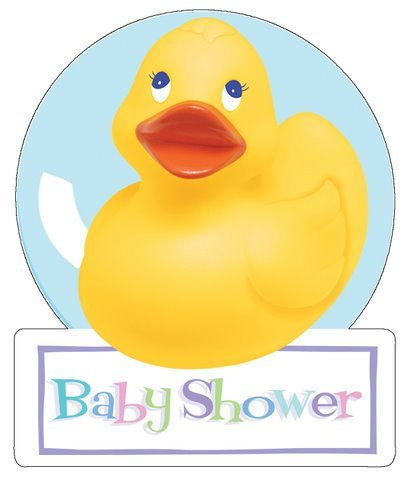 Baby Shower Ducky Invitations front-1070323