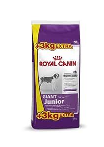 royal canin giant junior hundefutter 15 3 kg gratis 1er pack 1 x 18 kg haustier. Black Bedroom Furniture Sets. Home Design Ideas