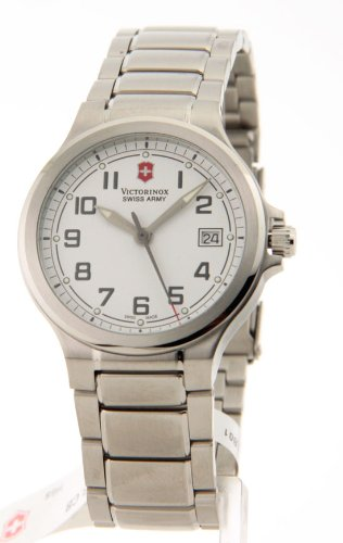 Victorinox Swiss Army Peak Ii Small White Dial Stainless Steel Women'S Watch front-582858