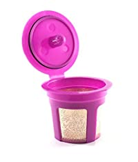 Premium 24K Gold Reusable K-Cup Filter for Keurig 2.0 / 1.0 Series Small Single Serve K Cup Coffee Maker