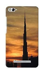CimaCase Burj Khalifa Designer 3D Printed Case Cover For Xiaomi Mi4i