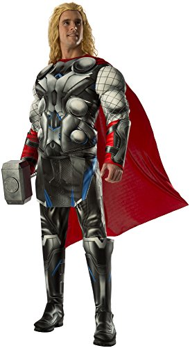 Rubie's Costume Co Men's Avengers 2 Age Of Ultron Deluxe Adult Thor Costume, Multi, X-Large