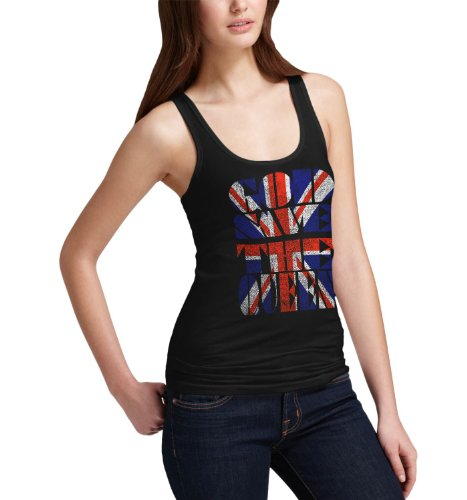 Womens Union Jack God Save