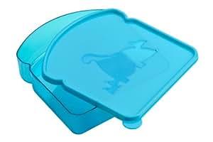 Premier Housewares 1206279 Boîte à Sandwich avec Désigne de Dinosaure en Plastique Bleu