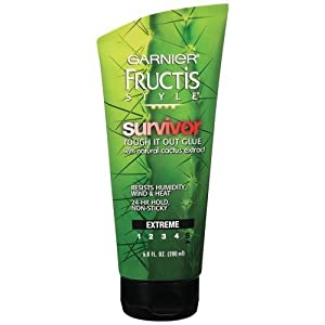 Garnier Fructis Style Survivor Tough It Out Glue, 6.8 oz. (Pack of 6)