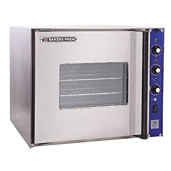 208V 3 Phase Bakers Pride COC-E1 Cyclone Series Half Size Electric Convection Oven Single Deck Right