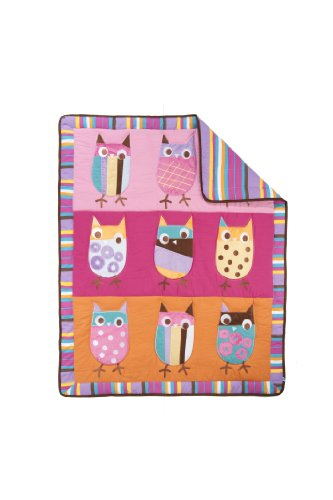 Owl Baby Bedding Set 3376 front