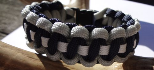 Dallas Cowboys Nfl Colored Paracord Survival Bracelet Choose Your Size By Bostonred2010 (7) at Amazon.com