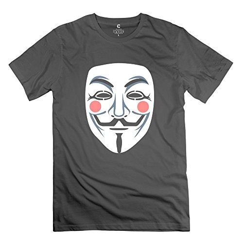 Mask Art Ideal Men T-Shirt Size S Color Deepheather