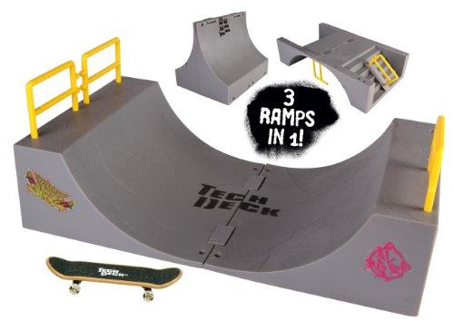 Homemade tech deck ramps