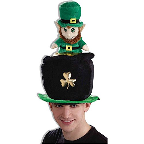 Funny Leprechaun Pot of Gold Hat - One Size