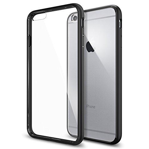 iPhone 6 Plus ケース, Spigen® [ クリア バンパー] ウルトラ・ハイブリッド Apple iPhone (5.5) アイフォン 6 プラス カバー (国内正規品) (ブラック SGP10898)