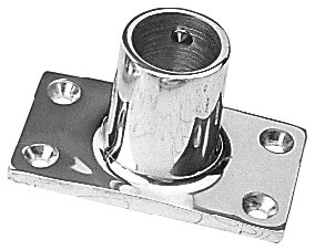 Sea Dog 281901-1 90-Degree Rectangular Base Rail Fitting, 1-Inch