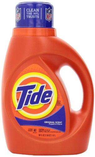 Tide Original Scent Liquid Laundry Detergent ,  50 Fl Oz,  2 Count