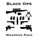 BrickArms Exclusive Black Ops Weapons Pack