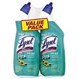 Lysol Cling Gel Toilet Bowl Cleaner, Country Scent, 2 - 24 Ounce bottles