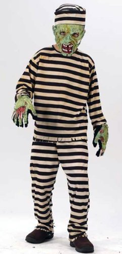 Child Convict Zombie Costume S-(4-6)