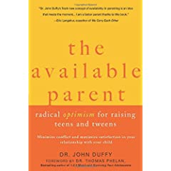 Learn more about the book, The Available Parent: Radical Optimism for Raising Teens and Tweens
