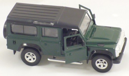13cm-Grn-Die-Cast-RMZ-Landrover-Defender-Pull-Back-And-Go-Vehicle-Spielzeug