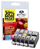 5 Jettec ink Cartridges for Canon Pixma MP620 - Cyan / Magenta / Yellow / Black / Black- Fully Chipped, Ready for Use