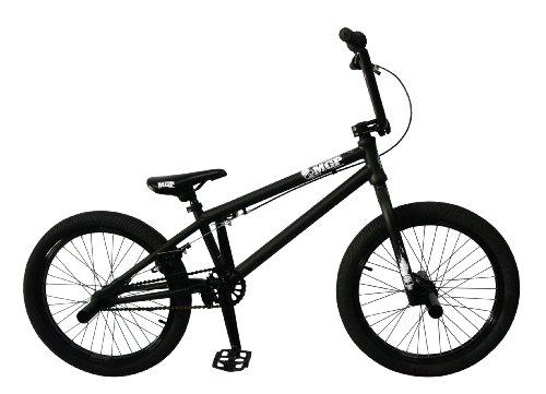 Madd Gear 20-Inch Boost BMX Bike, Black/White MGP Logo