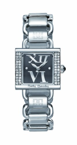 Betty Barclay BY058.00.100.161 Ladies Stone Encrusted Stainless Steel Bracelet Watch