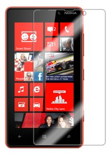 Nokia Lumia 820 Clear Screen Protector (Pack of 3) - by Mobi Lock?