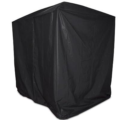 Abdeckhaube Schutzhülle für Hollywoodschaukel in schwarz 218x125x185 cm von Miadomodo® auf Gartenmöbel von Du und Dein Garten