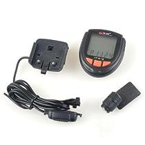 BestDealUSA Waterproof Bicycle LCD Speedometer Calorie Calculator