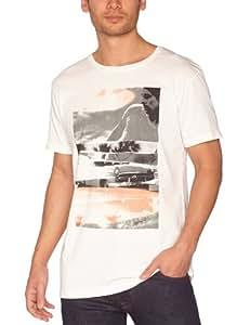 Quiksilver - T-Shirt - Homme - Blanc (Cream) - S