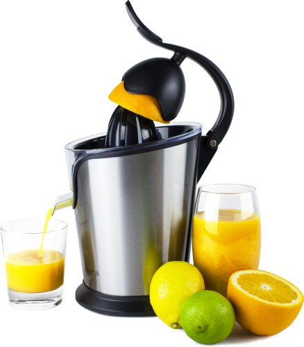 Andrew James Stainless Steel Electric Lever Action Citrus Juicer