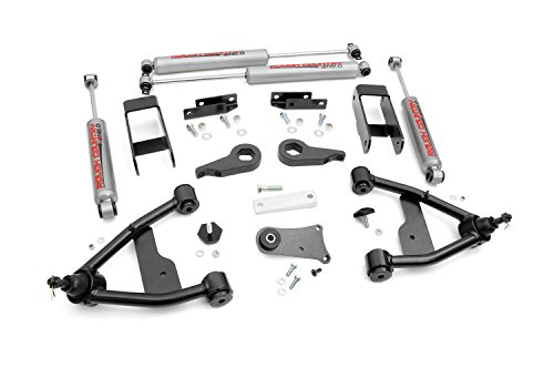 Rough Country - 242N2 - 2.5-inch Suspension Leveling Lift Kit w/ Premium N2.0 Shocks (Lift Kit For A 1996 Gmc Sonoma compare prices)