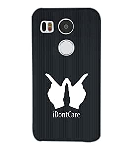 PrintDhaba Quote D-2403 Back Case Cover for LG NEXUS 5X (Multi-Coloured)