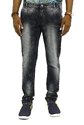 Jugend Black Regular fit Stretchable Men's Jeans (32)