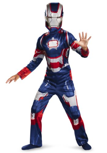 Marvel Iron Man 3 Patriot Boys Classic Costume