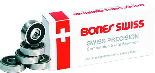 Buy Cheap Roller-Bones Swiss Skate Bearings 16-Pack