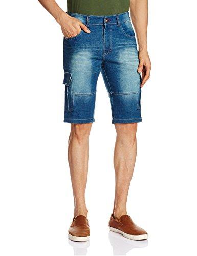 Urban-District-Mens-Denim-Shorts