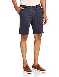 Basics Men's Cotton Shorts (8907054579358_14BSS31487_34_Dark Grey)