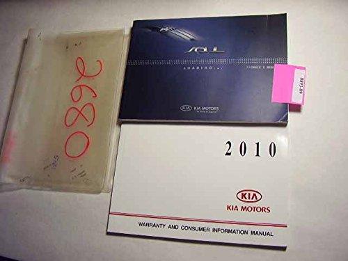 2010 Kia Soul Owners Manual (Kia Soul Owners Manual compare prices)