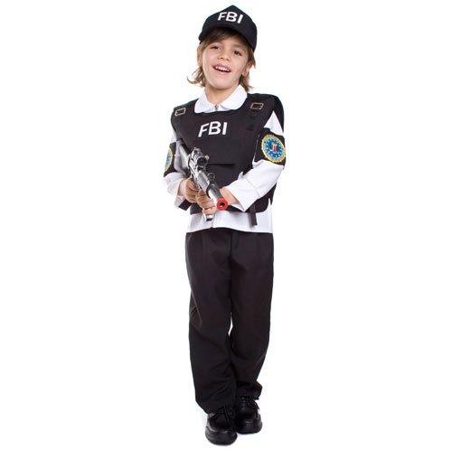 FBI Agent Child Costume