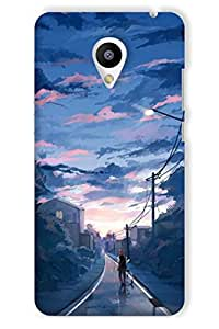 IndiaRangDe Hard Back Cover FOR MEIZU M2 Note