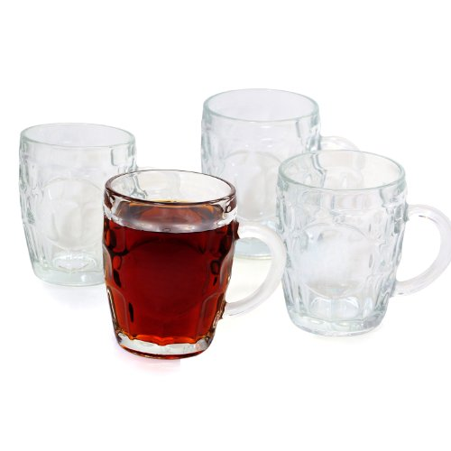Cathy's Concepts Classic Beer Tankards, Set of 4