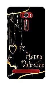 KnapCase Happy Valentine Designer 3D Printed Case Cover For Asus Zenfone 2 Laser ZE601